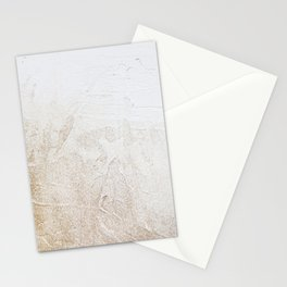Gold Glitter Detail Stationery Cards