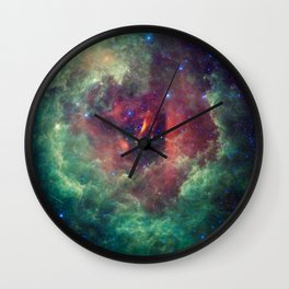 698. WISE Captures the Unicorn Rose Wall Clock