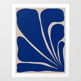 Six Leaf Plant - 2/3 Art Print