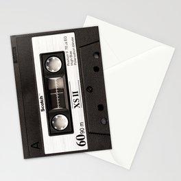 Cassette Tape Black And White #decor #society6 #buyart Stationery Cards
