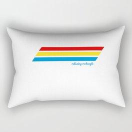 Retro Cooler Stripes Rectangular Pillow