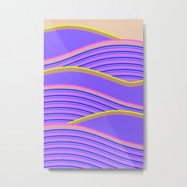 Happy Times - Lavender Hills Metal Print