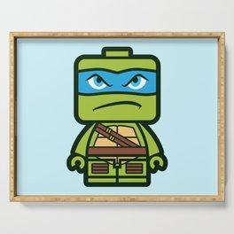 Chibi Leonardo Ninja Turtle Serving Tray