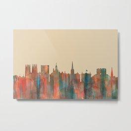 York, England Skyline - Navaho Metal Print