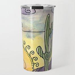 Sacred Saguaro Travel Mug