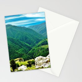 View From The Top Of The Mountain Stationery Cards