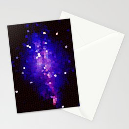 Purple Mosaic Sky Stationery Cards