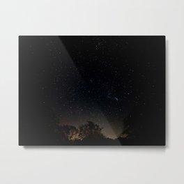 Texas Night Sky Metal Print