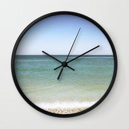 Sea in Greece Wall Clock