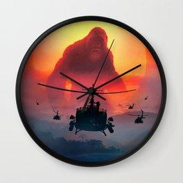 KONG Poster New Movie 2017 Skull Island Film King Kong Wall Clock
