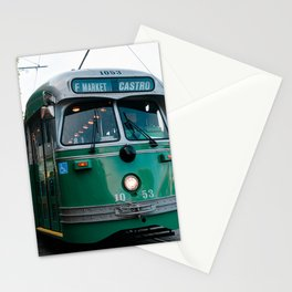 Green City Bus Stationery Cards
