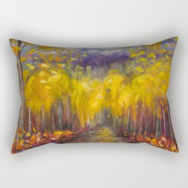 Uncompahgre National Forest Painting Rectangular Pillow