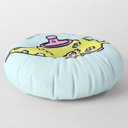 You Drive Me Potty! Floor Pillow