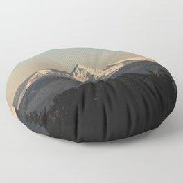 PNW Mount Hood Adventure Floor Pillow