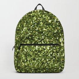 Green Sparkles Backpack