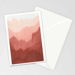 Watercolour Forest Landscape Stationery Cards