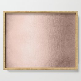 Moon Dust Rose Gold Serving Tray