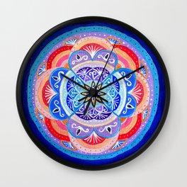 Rituals of February Wall Clock