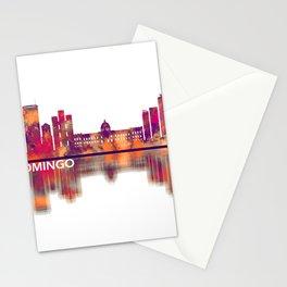 Santo Domingo Dominican Republic Skyline Stationery Cards