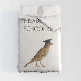 Philadelphia School of Bird Law Comforters