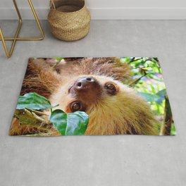 Awesome Sloth Rug