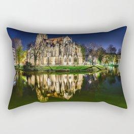 German Monastery Rectangular Pillow