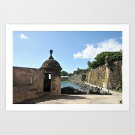 San Juan,fortress Kunstdrucke