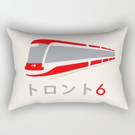 Toronto Red Rocket Japanese Rectangular Pillow