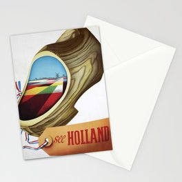 vintage Plakat Holland Stationery Cards