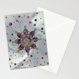 Dharma Wheel  - Dharmachakra Stationery Cards
