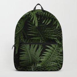 Tropical leaves 02 Backpack