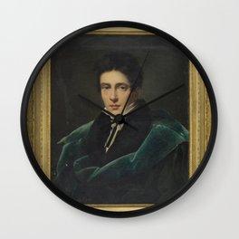 Alexandre Dubois-Drahonet - Portrait of Monsieur Gest Wall Clock