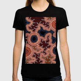 Aboriginal Art Authentic - Pathways T-shirt