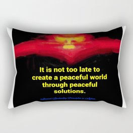 A Peaceful World Rectangular Pillow