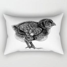 Baby chick - ink illustration Rectangular Pillow