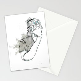 Overworked and underpaid Stationery Cards
