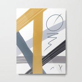 LINES N2 Metal Print