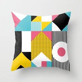 Bauhaus Graphic #01 Throw Pillow