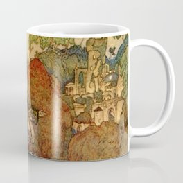 She Saw The Castle For The First Time By Edmund Dulac Coffee Mug
