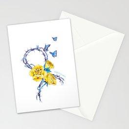 Ribbon | Endometriosis awareness Stationery Cards