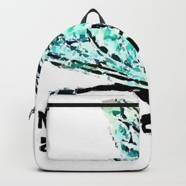 No Fly Zone By Greenness Backpack