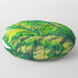 Village Path Floor Pillow
