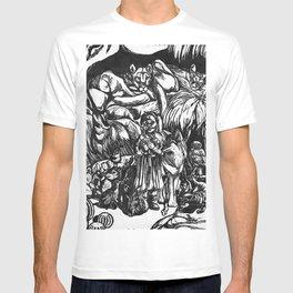 Desert Peaceable Kingdom T-shirt