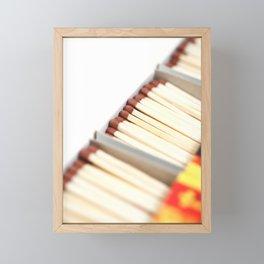 Matchboxes Framed Mini Art Print