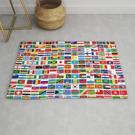 Flags Of The World Rug