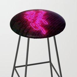 Hello Gorgeous - Neon Sign Bar Stool