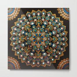 Inner Peace Mandala Metal Print