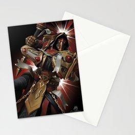 Vengeful Paladin Stationery Cards