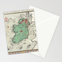 Poster Irish Free State  Northern Ireland (1929) by MacDonald Gil Stationery Cards