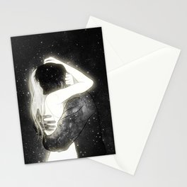The light to my heart. Stationery Cards